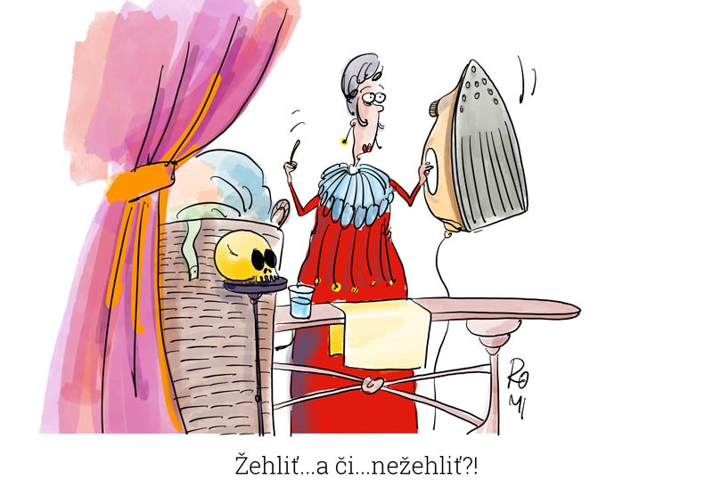 hamlet cartoon